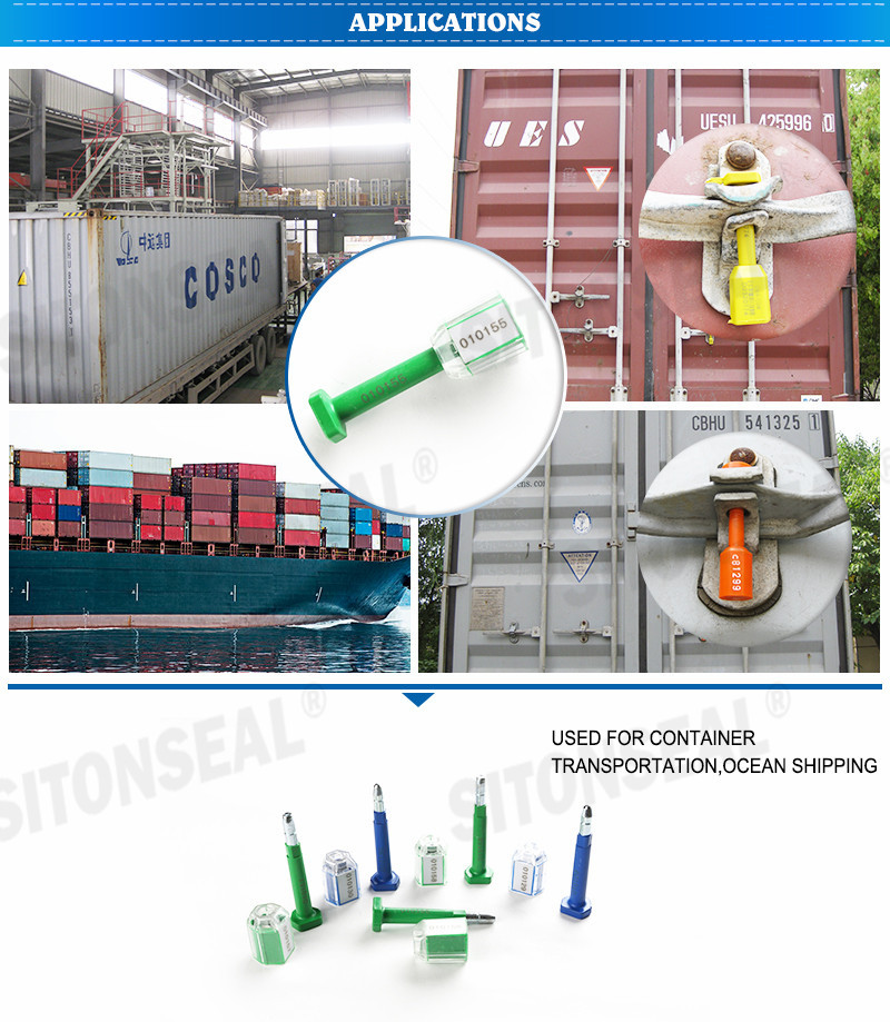 ST-1104 Low-carbon Steel Bolt Seal Lock For Containers