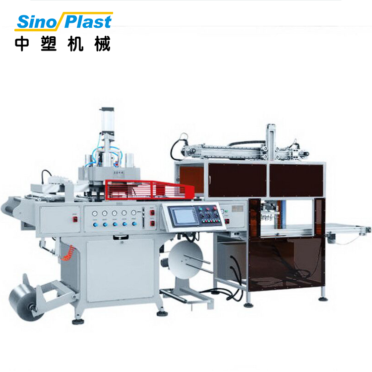 SINOPLAST Wholesale China Goods Manufacture Supplier Thermoforming Machinery Plastic Making Machine
