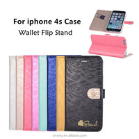 Hot new For iphone 4s case Wallet Stand Flip APPLE IPHONE4 mobile phone cases