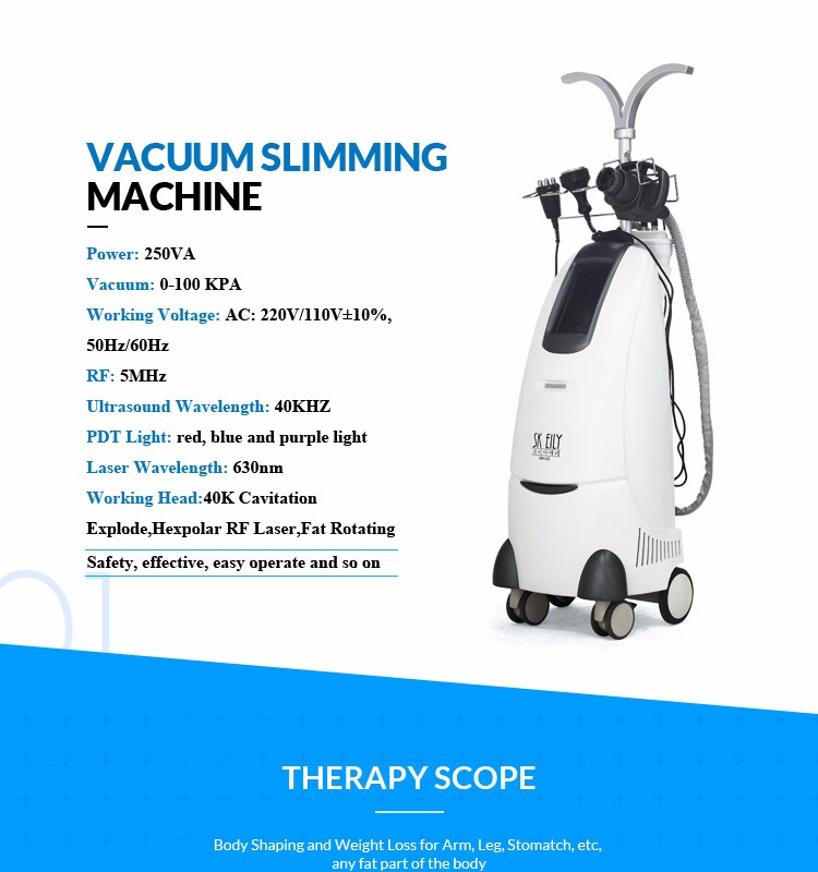 Weight Loss Body Slimming Ultrasound Cavitation rf Machine