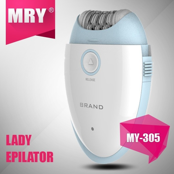 epilator MY-305 rechargeable 2 speed hair removers