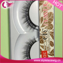 wholesale high quality synthetic eyelashes/3D silk lashes