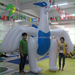 As Customized Cheap Price Giant Blue And White PVC Inflatable Dragon Animal For Hot Sale