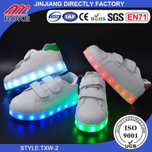 Led Kids Children Boys Girls Light Up Sneakers Babies Flat Shoes Trainers