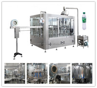PET bottled water filling line with capping washing filling 3 in 1