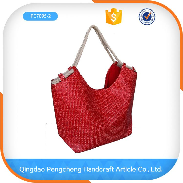 cheap paper cheapest shopping paper straw bag packaging bag