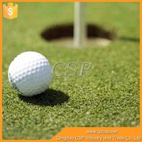 Natural artificial grass with density 50400 turfs for golf