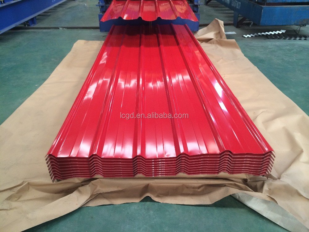 Prepainted Steel Colorful Aluminium Zinc Roofing Sheet