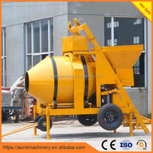 ISO CE jzc250 cement mixer with plastic drum