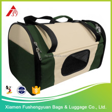China new design popular 600D polyester dog transport / pet cage