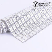 2015 new hotfix flower crystal rhinestone sheets