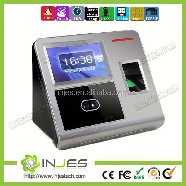 OEM Backup Battery Touch Screen WIFI GPRS Biometric Face Recognition Device For Attendance(MYFACE7)