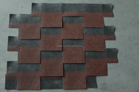 Chinese Sand coated bitumen asphalt shingle roofing tiles new price