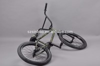 Full chromoly 4130 double butted camouflage BMX Bike Genuine oil slick PVD BMX