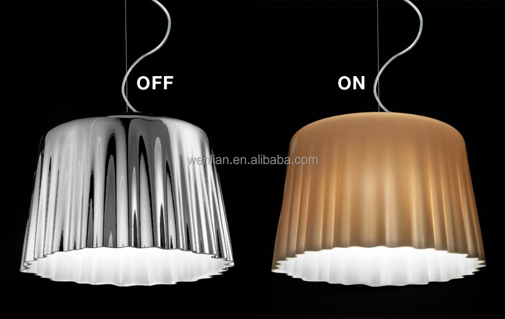 Italy simple design mushroom pendant lamp for home