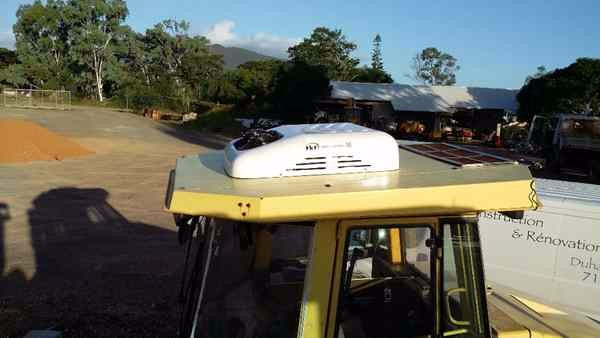 2.5KW roof top electrucal tractor cab battery driven truck air conditioner