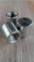 china products forged stainless steel NPT thread pipe end cap