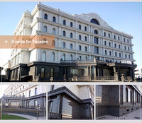 Commerical building and hotel decoration stone exterior wall panels