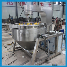 large cooking pots for sale/commercial cooking pots/double jacketed kettle