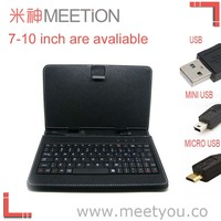 Wired folding keyboard case for tablet