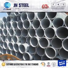 astm a36 ms galvanized steel tube,bs1387 galvanzied steel pipes,1.5 inch round fence posts