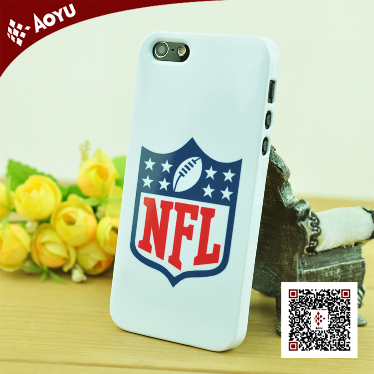 2014 fashion nfl heat transfer sublimation phone cases