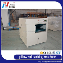 China famous factory NaiGu manufacture automatic pillow vacuum roll packing machine