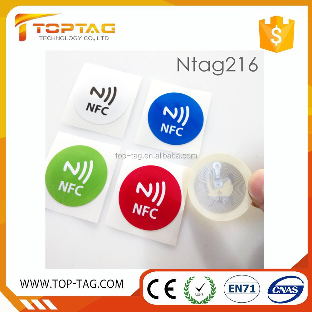 Paper NFC Blank Sticker Printable and Programmable