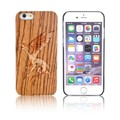 Custom Pattern Engrave Imported Natural Wood Cell Phone Case