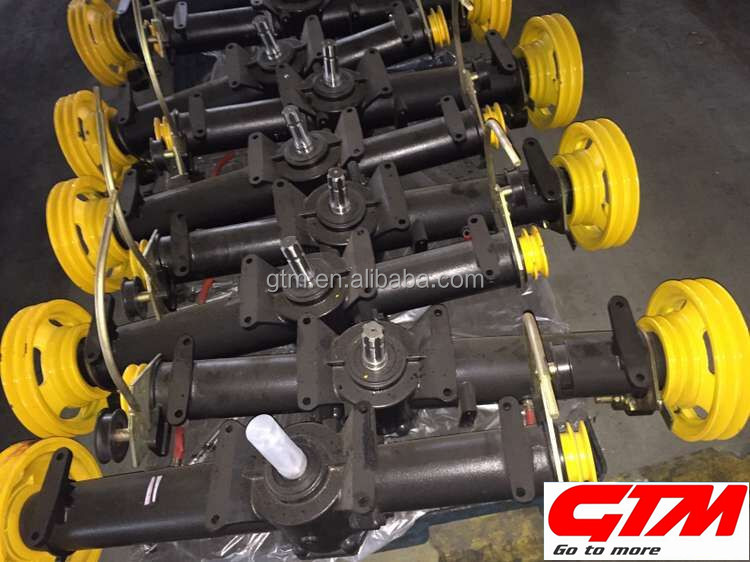agricultural grain harvester reversing gearbox