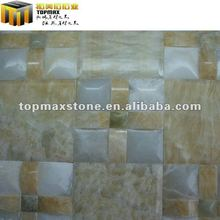 Professional mosaic supplies honey onyx natural stone mosaic