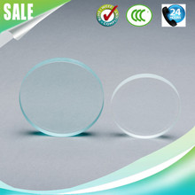 round led light panel glass
