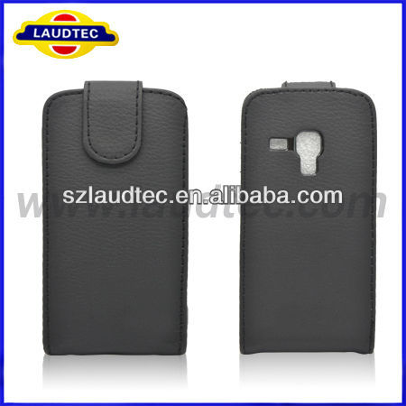 Made in China Flip Leather Phone Case For Samsung Galaxy S Duos S7562--Laudtec