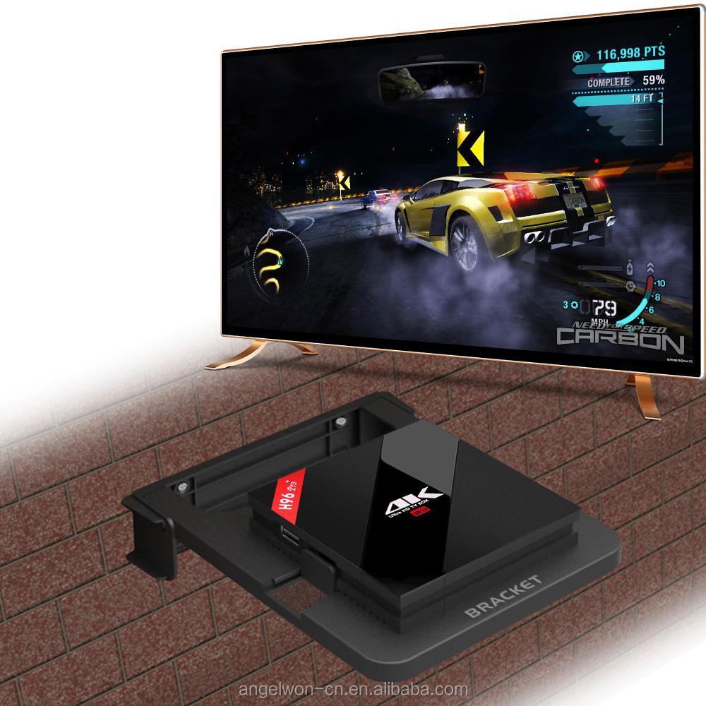 2017 Shenzhen Android 7.1 Caixa de TV Inteligente H96 PRO Amlogic S912 3G 16G BT Wi-fi AC HD set top box receptor de Tv