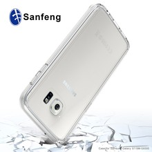 Shock-proof Air-cushion Transparent Crystal Clear PC + TPU For Samsung Galaxy S7 G930 Case