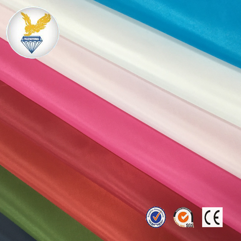 170T taffeta flouroscent color stock lot garment lining fabrics good price on sale shaoxing manufacturer