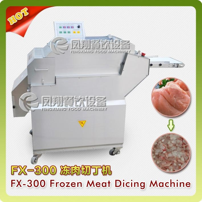 Industrial Frozen Meat Cube Cutting Machine
