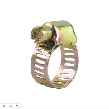 gold supplier micro stainless steel perforated band hose clamp