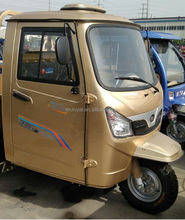 Close Cabin Tricycle Three Wheel Motorcycle Gas Powered Adult Tricycle 200cc Model. MS200ZH-SCC