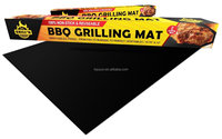 BBQ Grill Mat - the Ultimate Healthy Charcoal and Gas Grilling Accessory! Cooking Mat Seals In Outdoor Flavor and Protects Meat
