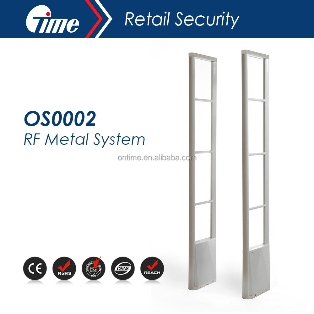 ONTIME OS0002 High quality eas 8.2m transmitter and receiver burglar alarm antenna system