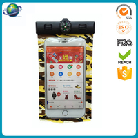 Durable pvc plastic waterproof packing bag for cell phone case