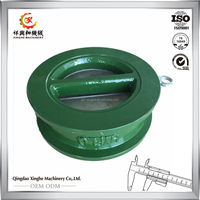 aluminum steel brass iron sand casting ductile iron resin sand casting grey gray Iron sand Casting container bridge fitting