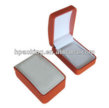 Silver Leather Necklace Jewelry Box Snake Skin Jewery Box for Necklace