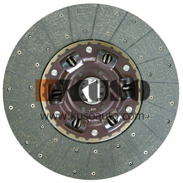 380MM clutch disc for HINO 500 RANGER parts 31250-4950