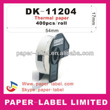 Brother Labels brother label DK-11204,DK-1204,DK-204 DK11204 DK1204 DK204Direct Thermal Labels, QL Series Printers