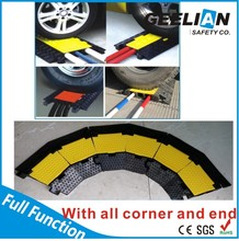 2/3/4/5 channel Flexible cable protector for rubber protection cover