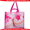 Laminated fabric promotional gift bags laminated non woven shopping bag