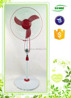 16'' 18'' lamp solar power fan 12v dc electric pedestal stand fan motor