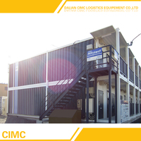 Luxury Modular Mobile Living Foldable Shipping Container Office
